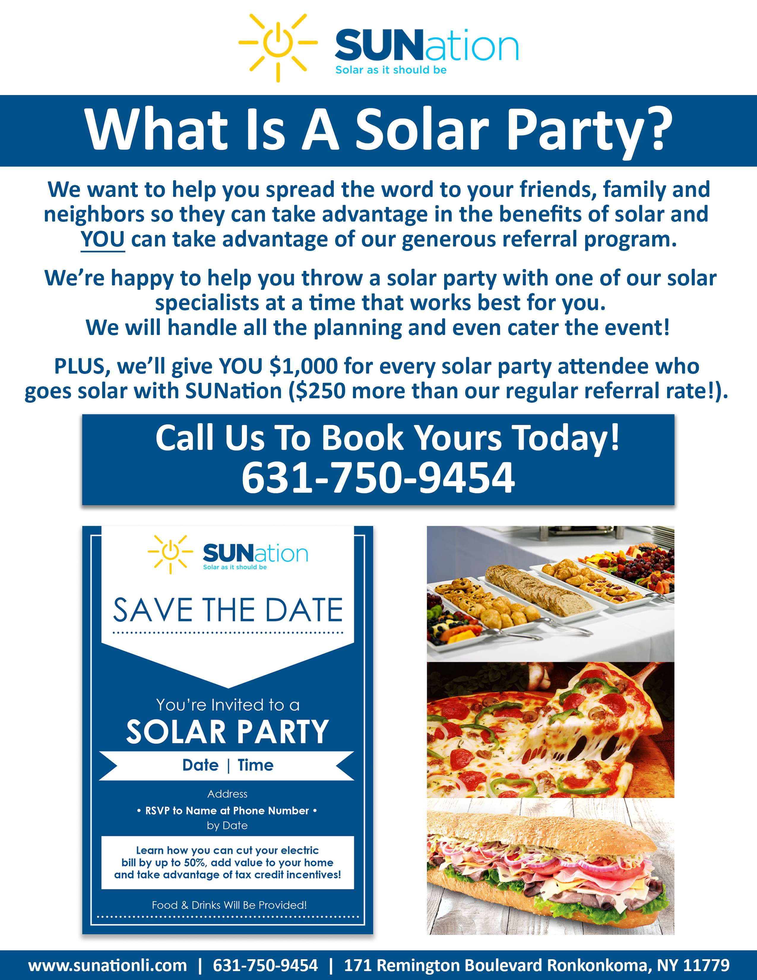 Solar Party Sunation Solar Systems