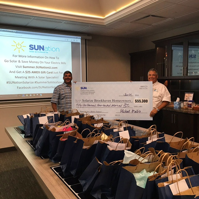 Going Solar With Sunation Pays Big For Solarize Brookhaven