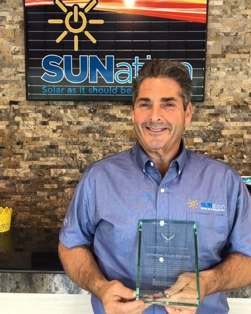 Sunation Wins Li Business News Corporate Citizenship Award